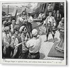 Morgan Began To Upbraid Them Acrylic Print by British Library