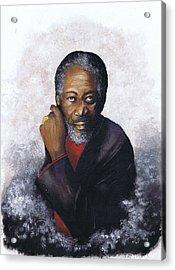 Morgan Freeman Acrylic Print