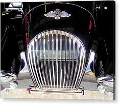 Morgan Sports Car Grille Acrylic Print by Don Struke