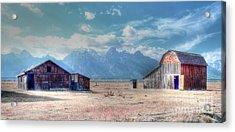 Morman Row Acrylic Print