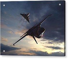 Morning Aerobatics Acrylic Print
