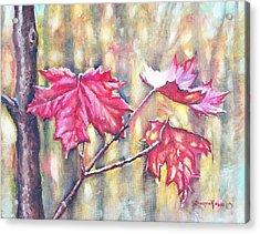 Morning After Autumn Rain Acrylic Print by Shana Rowe Jackson
