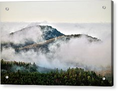Acrylic Print featuring the photograph Morning After The Storm by Allen Carroll