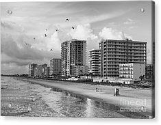 Morning At Daytona Beach Acrylic Print