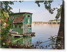 Morning At Latsch Island Acrylic Print