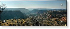 Morning At Palo Duro Acrylic Print