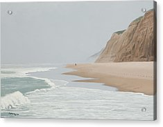 Morning At Pomponio 2 Acrylic Print