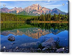 Morning At Pyramid Lake Acrylic Print