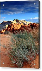 Morning At Snow Canyon State Park Acrylic Print by Eric Foltz