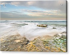 Morning At Tabletop Reef Acrylic Print