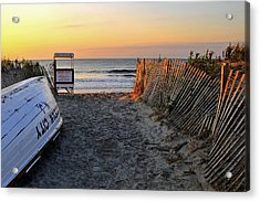 Morning At The Beach Acrylic Print by Dan Myers