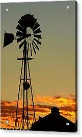Morning At The Farm Acrylic Print