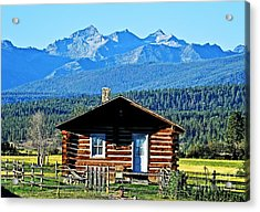 Acrylic Print featuring the photograph Morning At The Getaway by Joseph J Stevens