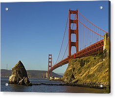 Morning At The Golden Gate Acrylic Print by Bryant Coffey