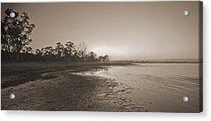 Morning At The Lake Acrylic Print by Gordon  Grimwade