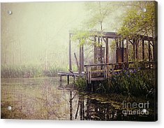 Morning At The Nature Center Acrylic Print by Katya Horner