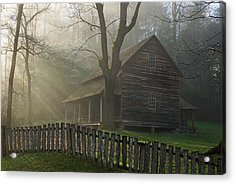 Morning At The Tipton Place Acrylic Print by Deb Campbell