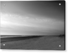 Acrylic Print featuring the photograph Morning At Tybee Island by Frank Bright