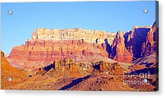 Morning At Vermillion Cliffs And Cathedral Canyon Acrylic Print by Douglas Taylor