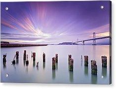 Morning Calmness - San Francisco Bay Acrylic Print