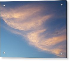 Acrylic Print featuring the photograph Morning Clouds by Ron Roberts