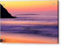Morning Dream Singing Beach Acrylic Print