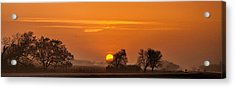 Morning Drive Acrylic Print by Andrew Soundarajan