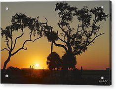Morning Eclipse Acrylic Print by Phill Doherty