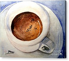 Morning Espresso Acrylic Print