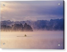 Morning Exercise Acrylic Print
