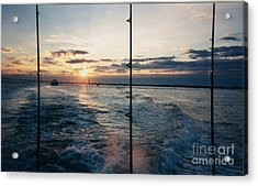 Acrylic Print featuring the photograph Morning Fishing by John Telfer