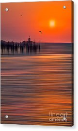 Morning Flight - A Tranquil Moments Landscape Acrylic Print by Dan Carmichael