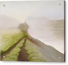 Morning Fog Acrylic Print by Bruce Richardson