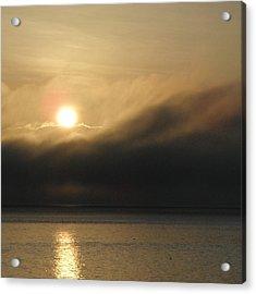 Morning Fog Acrylic Print by A Cyaltsa Finkbonner
