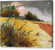 Morning Fragrance Acrylic Print by John Williams
