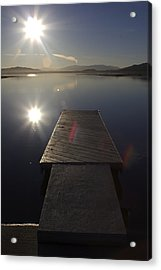 Acrylic Print featuring the photograph Morning Glare by Richard Stephen