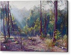 Morning Glory Acrylic Print by Lynda Robinson