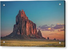 Morning Glory On Tse' Bit' Ai' Acrylic Print