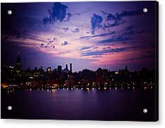 Acrylic Print featuring the photograph Morning Glory by Sara Frank
