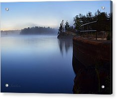 Acrylic Print featuring the photograph Morning Glow by Gregory Israelson
