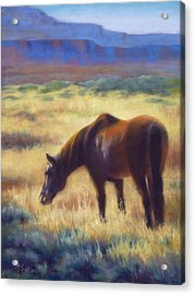 Morning Graze Acrylic Print