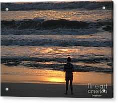 Morning Has Broken Acrylic Print by Greg Patzer