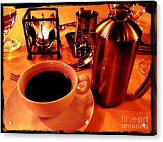 Acrylic Print featuring the photograph Morning Has Broken by Leslie Hunziker