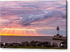 Morning Has Broken Acrylic Print by Mary Amerman