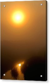 Morning Haze Acrylic Print by Sarah Boyd