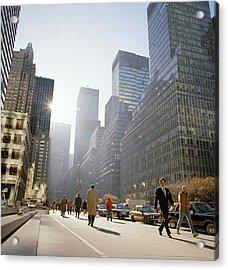 Morning In America Acrylic Print by Shaun Higson