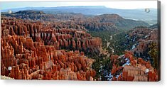 Morning In Bryce Canyon Acrylic Print by Rincon Road Photography By Ben Petersen