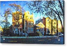 Morning In Bucktown Acrylic Print by Dave Luebbert