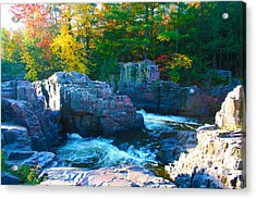 Morning In Eau Claire Dells Acrylic Print