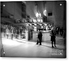 Morning In Grand Central Acrylic Print